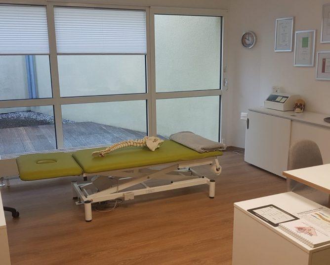 Praxisraum Osteopathie